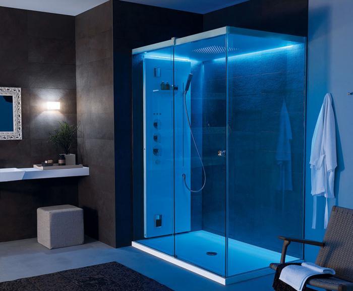 душевая кабина в ванной комнате варианты фото