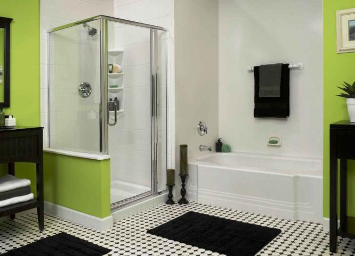 душевая кабина в ванной комнате варианты идеи