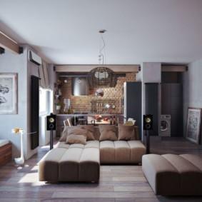 Мягкая мебель в лофт стиле
