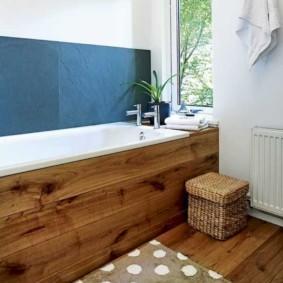 экран в ванной комнате