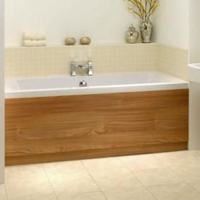 экран в ванной комнате идеи