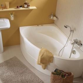 экран в ванной комнате идеи интерьер