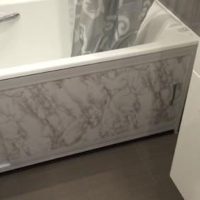 экран в ванной комнате интерьер фото