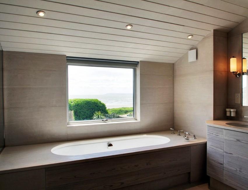 экран в ванной комнате декор