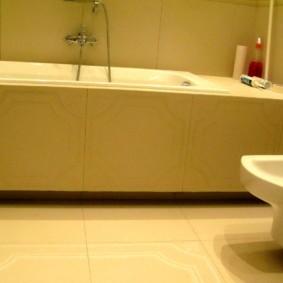 экран в ванной комнате фото