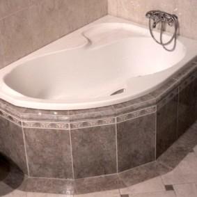 экран в ванной комнате фото интерьера