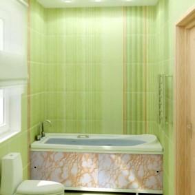 экран в ванной комнате фото оформления