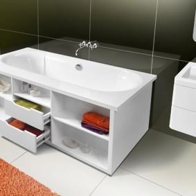 экран в ванной комнате фото вариантов