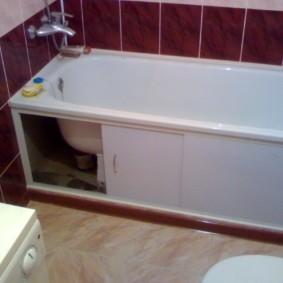 экран в ванной комнате идеи декор