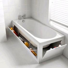 экран в ванной комнате идеи декора