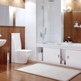 экран в ванной комнате идеи интерьера