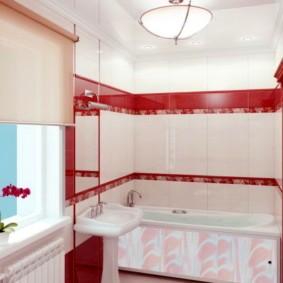 экран в ванной комнате идеи оформление