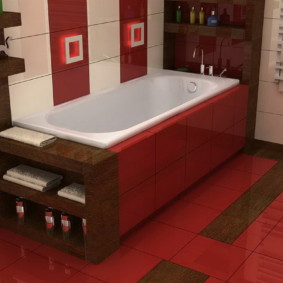 экран в ванной комнате идеи вариантов