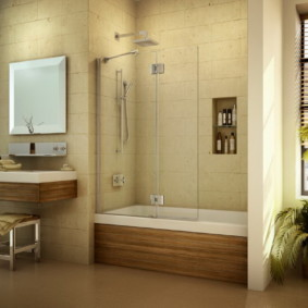 экран в ванной комнате идеи варианты