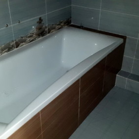 экран в ванной комнате интерьер