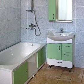 экран в ванной комнате оформление фото