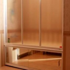 экран в ванной комнате оформление идеи