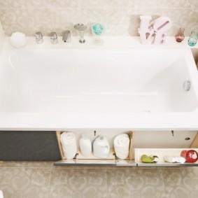 экран в ванной комнате варианты идеи