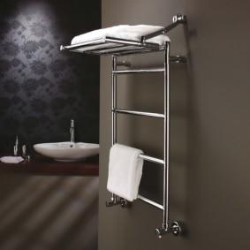 электрический полотенцесушитель в ванную фото декор