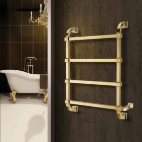 электрический полотенцесушитель в ванную фото виды