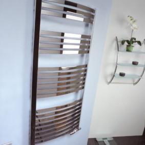 электрический полотенцесушитель в ванную идеи декора