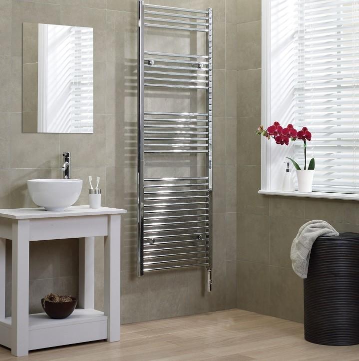 электрический полотенцесушитель в ванную идеи дизайн