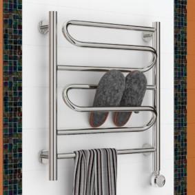 электрический полотенцесушитель в ванную идеи фото