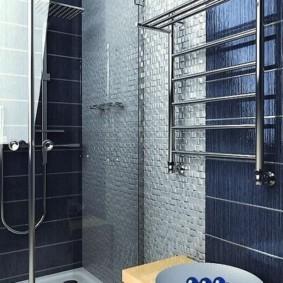 электрический полотенцесушитель в ванную идеи интерьера