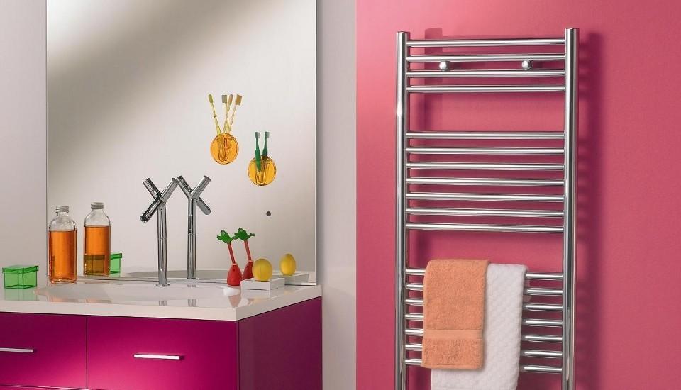 Электрический полотенцесушитель в ванную идеи варианты