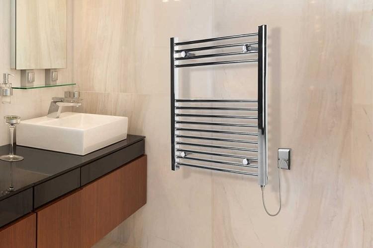 электрический полотенцесушитель в ванную идеи виды