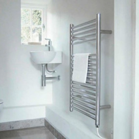электрический полотенцесушитель в ванную варианты дизайна