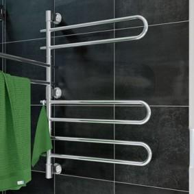 электрический полотенцесушитель в ванную варианты идеи