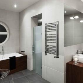 электрический полотенцесушитель в ванную виды