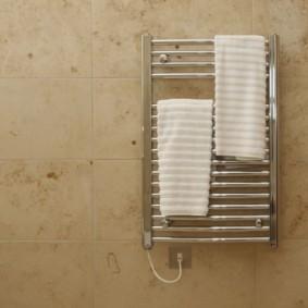 электрический полотенцесушитель в ванную виды идеи