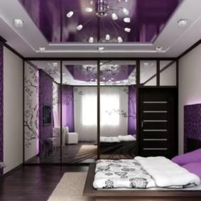 фиолетовая спальня идеи дизайн