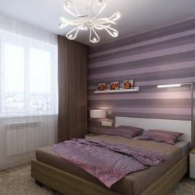 фиолетовая спальня идеи оформление