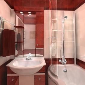 Дизайн современной ванной в панельном доме