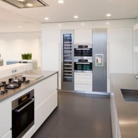 Металлические столешницы кухонного гарнитура