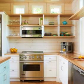 Деревянные столешницы кухонной мебели