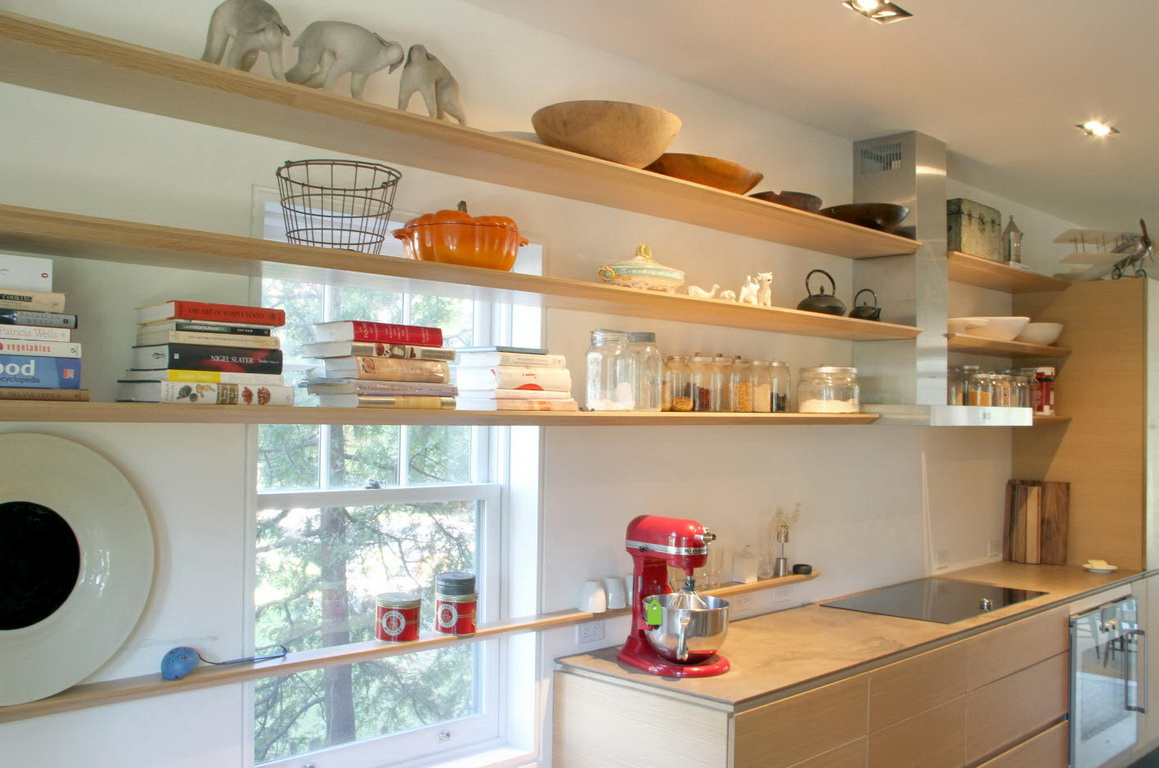 мальчика полки вместо подвесных шкафов на кухне фото малых количествах встречался