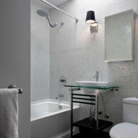 Компактная модель раковины для ванной