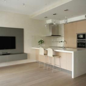 Оформление кухни в стиле минимализма