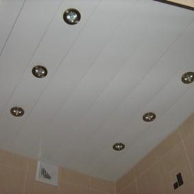 Точечные светильники с лампами низкой мощности