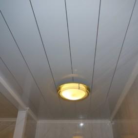 Накладной светильник плоского типа