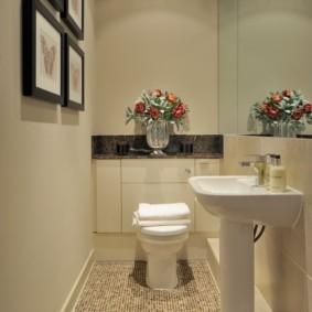 Декор туалета в современном стиле