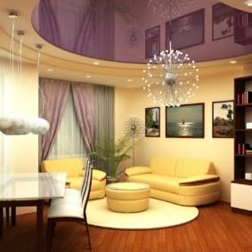 Светло-желтая обивка мягкой мебели