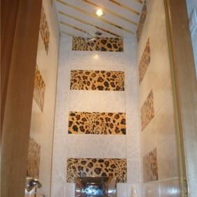 Диагональная укладка реечного потолка