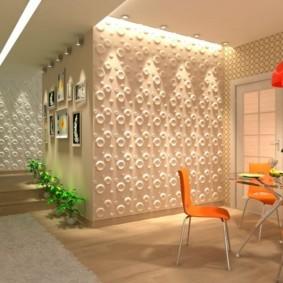Декоративная подсветка кухонной стены