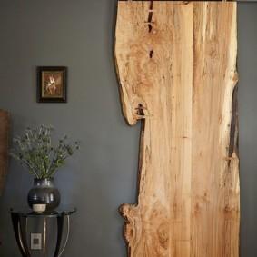 Полотно раздвижной двери из массива древесины