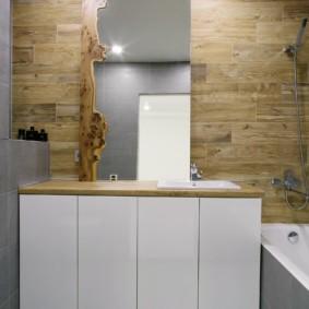 Дизайн ванной в эко-стиле